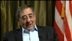 AQSh Mudofaa vaziri Leon Panetta bilan suhbat/Panetta talks to VOA