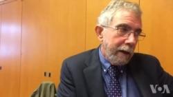 克鲁格曼接受美国之音记者采访谈中国经济(3)