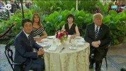 Накануне визита Дональда Трампа в Японию