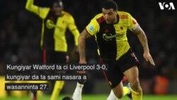 Watford Ta Kawo Karshen Nasarar Da Liverpool Ke Samu a Jere