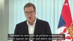 Vučić: Nema smisla da razgovaramo o ratnoj odšteti