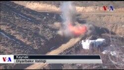Lice'deki PKK Kamplarına Operasyon