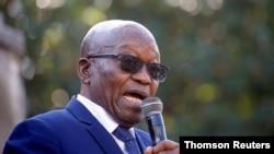 L'ancien président sud-africain Zuma
