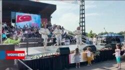 Washington'da Türk Festivali'ne Yoğun İlgi