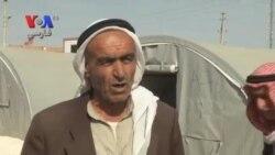 آوارگان کرد سوری با ترک خانه هایشان در کوبانی راهی مرز ترکیه شدند