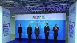 金磚五國領導人在俄羅斯出席經濟峰會