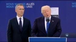 Трамп назвав тероризм та російську агресію серед головних загроз, на яких має сфокусуватися НАТО. Відео