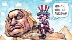 """美国万花筒:民调创新低 专家请川普按下""""重置键"""";政坛风云急 漫画家妙笔点评;达芬奇神秘作品面世"""