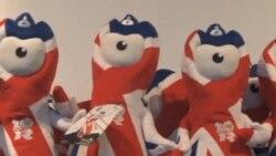 看天下: 伦敦奥运会纪念品热销