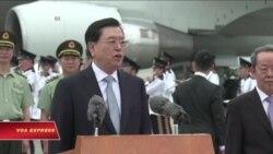 Giới chức cấp cao Trung Quốc thăm Hồng Kông