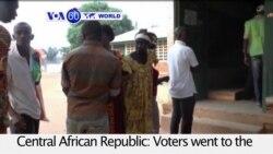 VOA60 World PM - CAR Holds Presidential, Legislative Vote