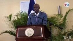 """Pati Politik """"Viv Ayiti"""" Reyaji sou Diskou Prezidan Jovenel Moise sou Palman an"""