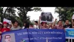 Biểu tình chống TQ: nhiều người bị bắt và bị hành hung