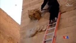 2015-04-05 美國之音視頻新聞:伊斯蘭國組織發佈伊拉克古城被毀的新片段