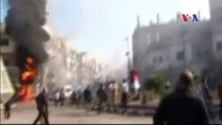 Tấn công đẫm máu ở Homs trong lúc dân chúng di tản