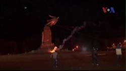Thêm tượng Lenin bị kéo đổ ở Ukraine