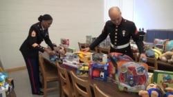 US Marines, Toys for Tots Bring Christmas Joy