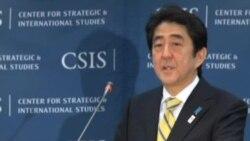 安倍首相:不要误判日本的坚定决心