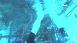 宇航员深水训练为深度空间任务做准备