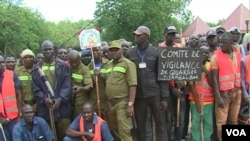 Militiamen in Kousseri, Cameroon, Aug. 16, 2019. (VOA/Moki Kindzeka)