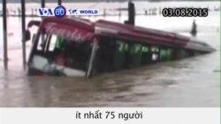 Ít nhất 75 người thiệt mạng vì lũ lụt và lở đất ở Ấn Độ (VOA60)