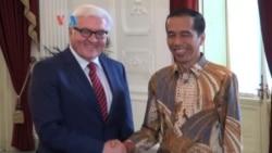 Presiden Jokowi Terima Menlu Jerman dan China