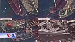 Hàn Quốc chặn tàu Hong Kong chuyển dầu cho Triều Tiên