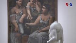 Picasso y Rivera conversan en Los Angeles