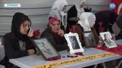 Annelerin HDP Önündeki Eylemi 135'inci Gününde
