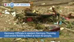 VOA60 Addunyaa - Floods kill dozens in Germany
