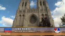 Vashingtondagi milliy ibodatxonada juma namozi - Muslims/Cathedral