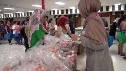 Amerikana: Ramazanda qeyri-adi xeyriyyəçilik