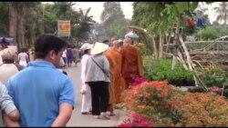 Hương sắc xuân ở làng hoa kiểng Tân Quy Đông