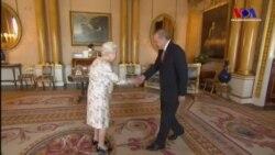Erdoğan Kraliçe 2. Elizabeth'le Görüştü