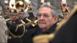 Pháp hoan nghênh chuyến thăm lịch sử của Chủ tịch Cuba
