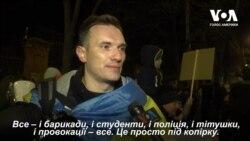 У Києві проходить акція на підтримку протестувальників у Гонконзі. Відео