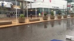 Thundershowers at Democratic National Convention in Philadelphia