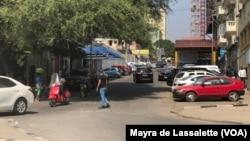 Rua na Maianga, Luanda