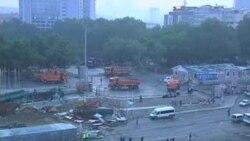 اخراج مظاهره کننده گان از میدان تقسیم استانبول