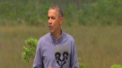 奧巴馬: 不能再否認氣候變化