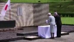 日本天皇明仁祭掃菲律賓二戰陣亡將士墓