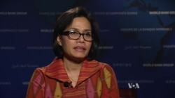 VOA Interview with World Bank Managing Director Sri Mulyani Indrawati