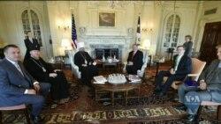 Предстоятель Православної Церкви України Епіфаній зустрівся з Державним секретарем США. Відео