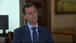 Assad on Cessation of Syria Cease-fire