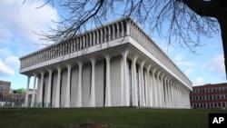Nama presiden Woodrow Wilson akan dihapus dari nama Princeton University. (Foto: AP)