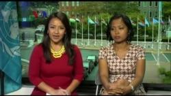 Wawancara VOA dengan Eni Lestari, Pekerja Migran di KTT Pengungsi dan Migran PBB