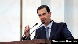 바샤르 알아사드 시리아 대통령.