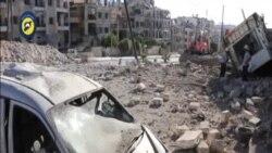 敘利亞阿勒頗遭猛烈空襲30人死亡