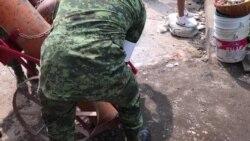 Aumentan esfuerzos de rescate en México por terremoto