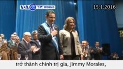 Diễn viên hài Guatemala nhậm chức tổng thống (VOA60)